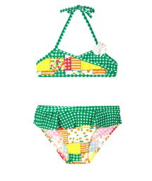 Two piece swimsuit for baby - PATCHWORK BABY