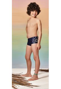 Short de bain enfant bleu marine - LIBERTY OF OCEAN