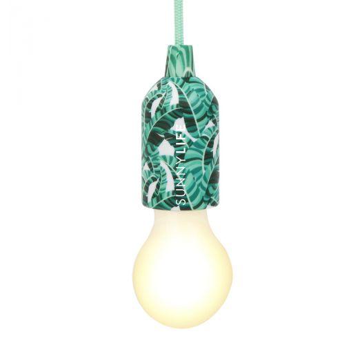 Tropical green pendant lightsocket - CORD LAMP BANANA PALM