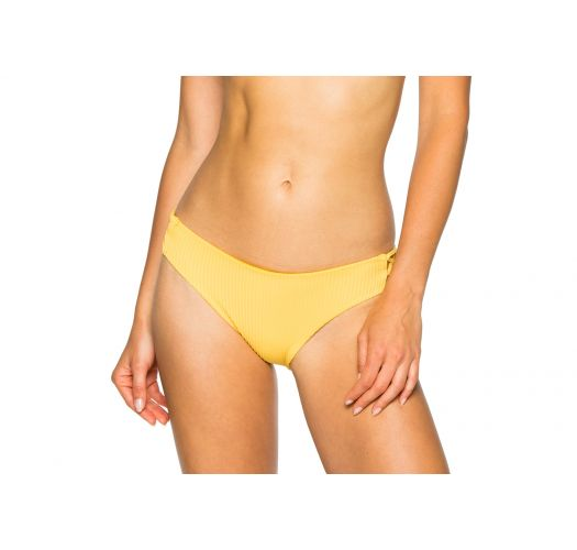 Fixed yellow bikini bottom - BOTTOM LACE BANANA COSTA DEL SOL