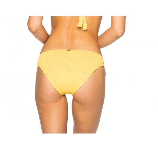Fixed yellow bikini bottom - BOTTOM LACE BANANA COSTA DEL SOL