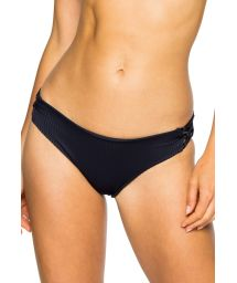 Fixed black bikini bottom - BOTTOM LACE MAR COSTA DEL SOL