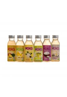 Selection of 6 fruit-scented monoï - PACK 6 MONOI PARFUMS 30ML
