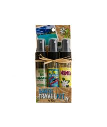 Reiseset: 3 x Monoi-Öl 30 ml - TRAVEL KIT MONOI 3X30ML