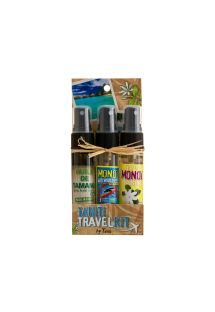 Travel kit: 3 x monoi oil 30ml - TRAVEL KIT MONOI 3X30ML