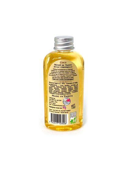 Kokosdoftande monoi olja - resestorlek - Vahine Tahiti - Monoï coco - 60ml