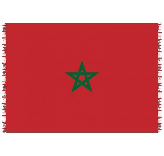 Pareo, Plazovy uterak - Zástava Morocco