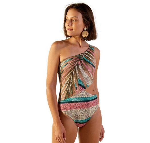 Asymmetrical one-piece swimsuit - ENSEADA POLINESIA