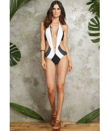 Unusual multi-position one-piece swimsuit - MAIO SAINT TROPEZ