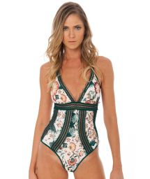 One-piece swimsuit with openwork - lingerie style - HYPNOTIC OP ORIENTAL