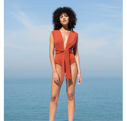 CREPE V MAILLOT RUSTED