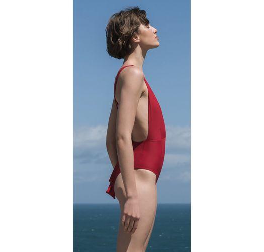 Luxus-Multipositions-Badeanzug, V-Ausschnitt - MARINA PITANGA
