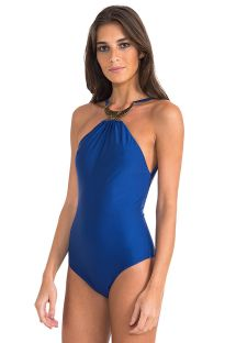 Costume intero Royal blu con collana - BERBER TOUAREG HALTER ONE PIECE