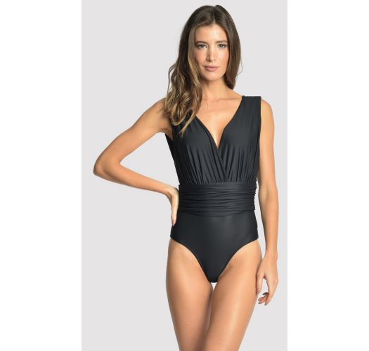 CACHECOEUR RUCHED BLACK