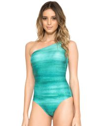Asymmetric one-piece swimsuit with multiple straps at the back - CARIBENHO