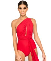Luxury one-piece swimsuit which can be worn in multiple positions - CHIC TEMPLE