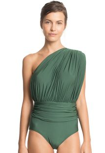 ONE SHOULDER DRAPED