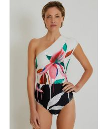 RUCHED ONE SHOULDER DUO