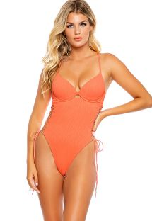 RIVER UNDERWIRE ONE-PIECE CORAL