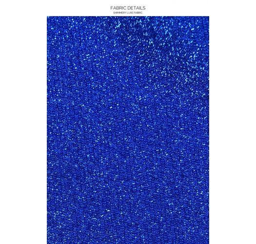 V NECK STARDUST ROYAL BLUE