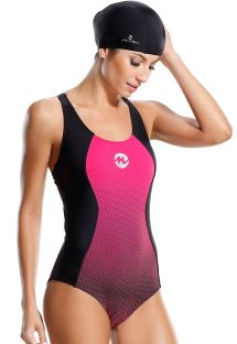 בגדי ים ספורט בצבע ורוד ושחור - MAIO CARIBE