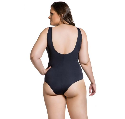 BODY ELEGANCIA CINZENTA PLUS