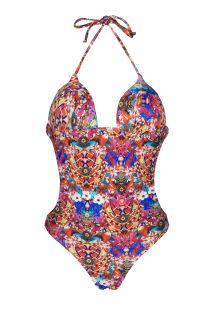 Trikini con relleno en las copas, ymotivos variados multicolor - ARAGUIRA