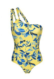 LEMON FLOWER ONE SHOULDER