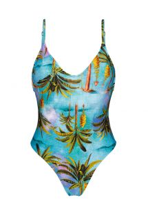 BBS X RIO DE SOL - Tropical one-piece swimsuit - POR DO SOL HYPE