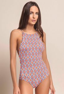 Macramé back ethnic one-piece swimsuit - RYTHM MACRAME