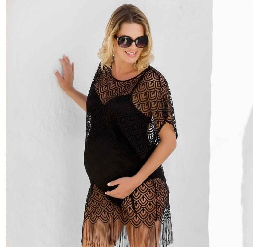 UNDERWIRED MATERNITY SWIMSUIT MONACO BLACK