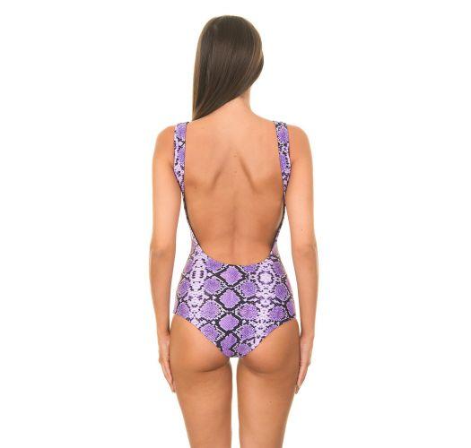 Bikini Brasileiro - COBRA LILAS
