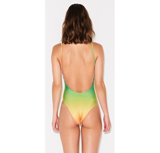 Farbenfroher Badeanzug mit Farbverlauf - MAIO GRADIENTE