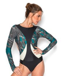 Original luxurious long sleeve swimsuit - TARA ANGOLA