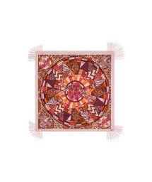 Ethnic wax-print pink sarong - WAX BLUSH