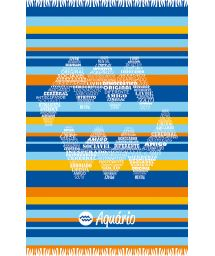 Aquarius astrological sign striped pareo - AQUARIO