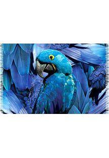 沙灘巾 - CANGA ARARA BLUE