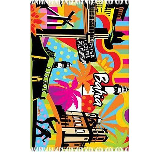 Stærke, pop-art farver fejrer Bahias skønne strande, de historiske steder og det fantastiske karneval - CANGA BAHIA POP