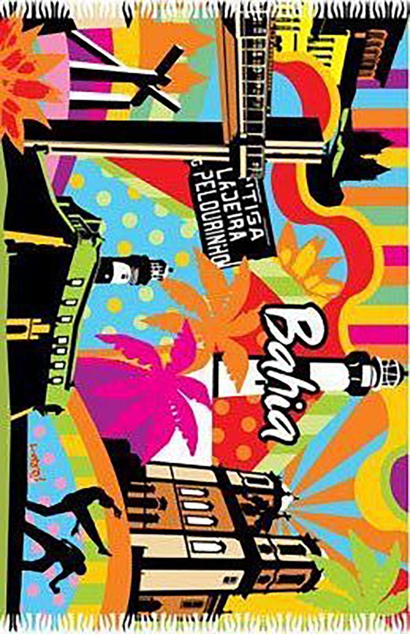 Ljusa poppiga färger firar Bahias underbara stränder, dess historiska platser och den fantastiska karnevalen! - CANGA BAHIA POP