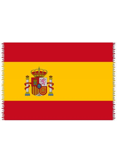 Brazilian beach towel - National flag Spain