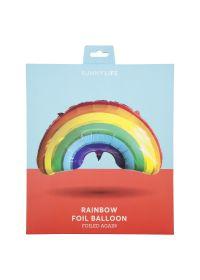 Aluminium rainbow party balloon - BALLOON RAINBOW