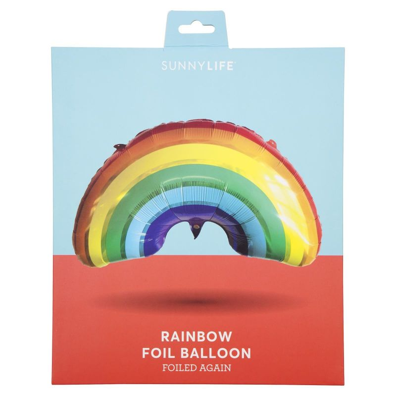 Aluminium rainbow party balloon - BALLOON RAINBOW