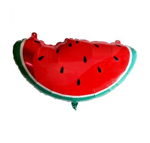 Watermelon shape aluminium party balloon - BALLOON WATERMELON