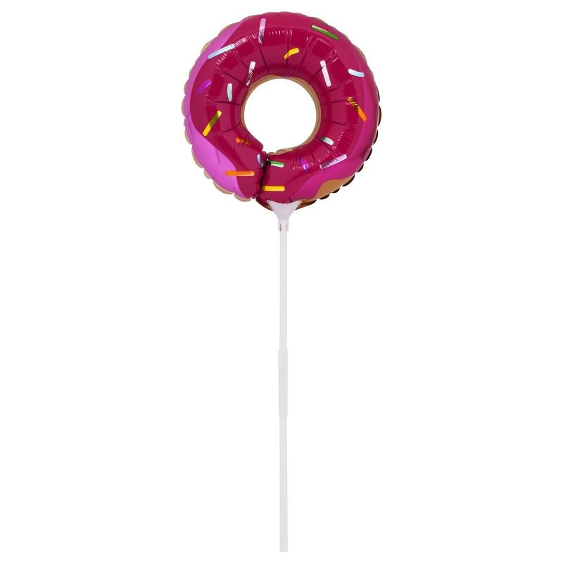 Set of two balloons on sticks doughnut and ice cream - BALLOONS SWEET TOOTH SMALL