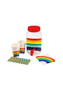 DRINK PARTY KIT RAINBOW