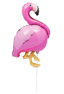 Alumiininen flamingo-ilmapallo - BALLOON FLAMINGO
