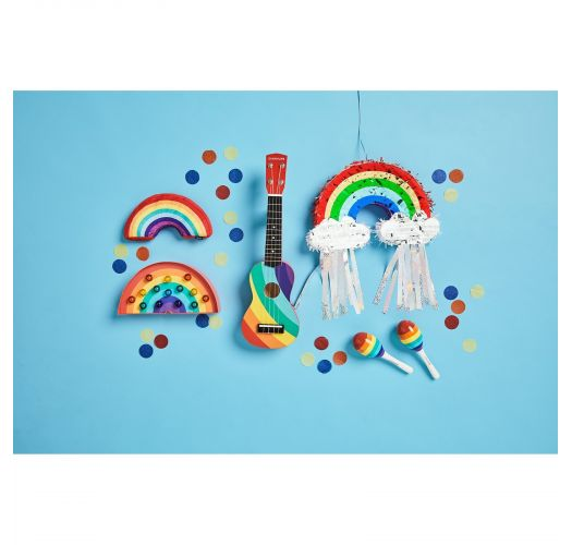 Small rainbow pinata - RAINBOW MINI PINATA