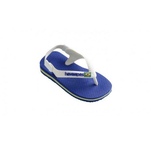 Japanke - BABY BRASIL LOGO MARINE BLUE