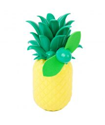Mini pineapple-shaped hand-held fan - BEACH FAN PINEAPPLE