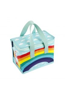 Soft children&#39s cool bag with rainbow print - KIDS LUNCH WONDERLAND